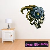 Monster Wall Decal - Wall Fabric - Repositionable Decal - Vinyl Car Sticker - usc005