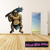 Mythical Creature Giant Wall Decal - Wall Fabric - Repositionable Decal - Vinyl Car Sticker - usc062