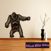 Mythical Creature Gnar Beast Cyclops Wall Decal - Wall Fabric - Repositionable Decal - Vinyl Car Sticker - usc052