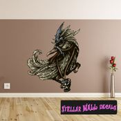 Mythical Creature Gryphon Wall Decal - Wall Fabric - Repositionable Decal - Vinyl Car Sticker - usc017