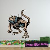 Mythical Creature Wall Decal - Wall Fabric - Repositionable Decal - Vinyl Car Sticker - usc013