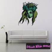 Mythical Creature Wall Decal - Wall Fabric - Repositionable Decal - Vinyl Car Sticker - usc064