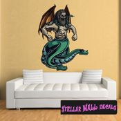 Mythical Creature Wall Decal - Wall Fabric - Repositionable Decal - Vinyl Car Sticker - usc065