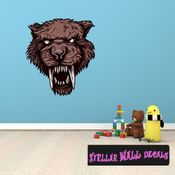 Mythical Creature Werewolf Wall Decal - Wall Fabric - Repositionable Decal - Vinyl Car Sticker - usc054