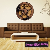 Occult Wall Decal - Wall Fabric - Repositionable Decal - Vinyl Car Sticker - usc011