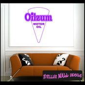Oilzum Motor Oil ANTIQUES Vinyl Wall Decal - Wall Sticker - Car Sticker AntiquesMC043 SWD