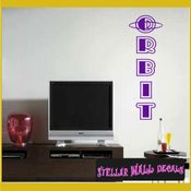 Orbit ANTIQUES Vinyl Wall Decal - Wall Sticker - Car Sticker AntiquesMC042 SWD