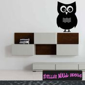 Owls Owl Animal Wall Quote Mural Decal WA001 SWD