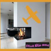 Plane Toy Airplane Transportation Vinyl Wall Decal Sticker Mural Quotes Words CP058 SWD