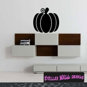 Pumpkin Thanksgiving Fall Holiday Wall Decals - Wall Quotes - Wall Murals CP096 SWD