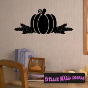 Pumpkin Thanksgiving Fall Holiday Wall Decals - Wall Quotes - Wall Murals CP100 SWD