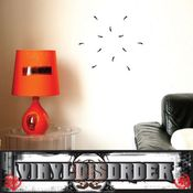 Rose thorns border wall picture frame Modern Wall Art Vinyl Wall Decal Sticker Mural Quotes Words ART05D2 SWD
