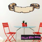 Scroll Wall Decal - Wall Fabric - Repositionable Decal - Vinyl Car Sticker - usc001