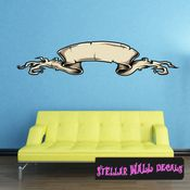 Scroll Wall Decal - Wall Fabric - Repositionable Decal - Vinyl Car Sticker - usc010