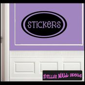 Stickers School Craft Supplies Labels Vinyl Wall Decal Sticker Mural Quotes Words LB005stickers SWD