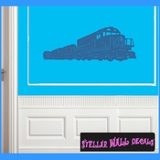 Trains NS006 Wall Decal - Wall Sticker - Wall Mural SWD