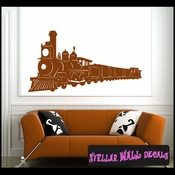 Trains NS010 Wall Decal - Wall Sticker - Wall Mural SWD
