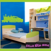 Trains NS023 Wall Decal - Wall Sticker - Wall Mural SWD