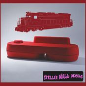 Trains NS030 Wall Decal - Wall Sticker - Wall Mural SWD