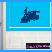 Trains NS034 Wall Decal - Wall Sticker - Wall Mural SWD