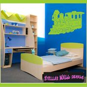 Trains NS039 Wall Decal - Wall Sticker - Wall Mural SWD