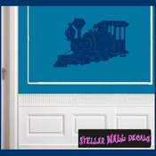 Trains NS040 Wall Decal - Wall Sticker - Wall Mural SWD