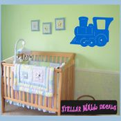 Trains NS046 Wall Decal - Wall Sticker - Wall Mural SWD