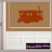Trains NS053 Wall Decal - Wall Sticker - Wall Mural SWD