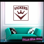 Vickers ANTIQUES Vinyl Wall Decal - Wall Sticker - Car Sticker AntiquesMC029 SWD