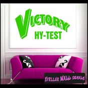 Victory Hy-Test ANTIQUES Vinyl Wall Decal - Wall Sticker - Car Sticker AntiquesMC045 SWD