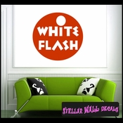 White Flash ANTIQUES Vinyl Wall Decal - Wall Sticker - Car Sticker AntiquesMC040 SWD