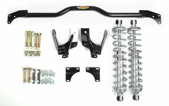 Rear coilover kit for 1964, 1965, and 1966 Chevelle, GTO, Cutlass, Buick GS, and other A-bodies from Global West Suspension.