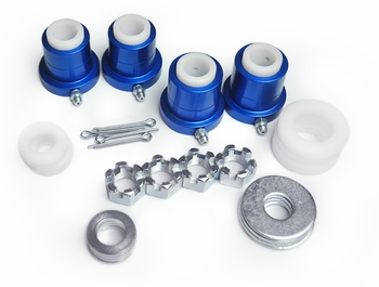 1971-1996 Impala, Biscayne, Caprice, Bel Air Del-A-Lum Upper Control Arm Bushing Kit Global West Suspension