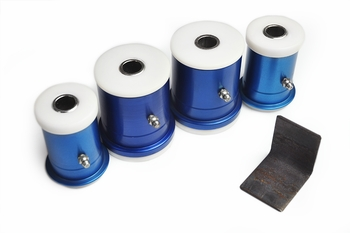 Del-A-Lum Lower Control Arm Bushing Kit - part # 1074