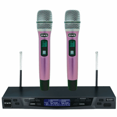 BVB VM-88MKII Professional Dual UHF Wireless Microphone Karaoke System Built in 200 Channels