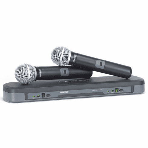 "Shure BLX-288/58 Professional Dual UHF Vocalist Wireless Microphone Karaoke System <b><i><font color=""#FF0000"">Model: 2019 Karaoke Edition</font></i></b>"