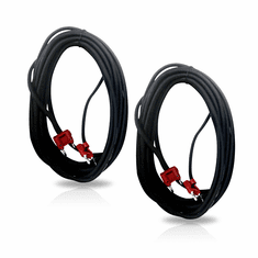 "Singtronic 14"" Gauge Monster Speaker Cable with Banana Plug (Pair)"