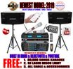 "SINGTRONIC COMPLETE 1500 WATTS PROFESSIONAL KARAOKE SYSTEM SPECIALS <b><i><font color=""#FF0000"">FREE 80,000 SONGS</font></i></b> SPECIAL WIFI FUNCTION & HDMI & OPTICAL & BLUETOOTH FUNCTION"