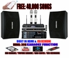 """SINGTRONIC COMPLETE 1000W KARAOKE SYSTEM SPECIALS WITH FREE: 40,000 SONGS <font color=""""#FF0000""""><i><b>MODEL: 2019 WITH HDMI, RECORDING & WIFI YOUTUBE</b></i></font>"""