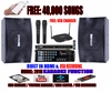 "SINGTRONIC COMPLETE 1000W KARAOKE SYSTEM SPECIALS WITH FREE: 40,000 SONGS <b><font color=""#FF0000"">M<i>ODEL: 2018 WITH BLUETOOTH, USB RECORDING & WIFI  YOUTUBE KARAOKE</i></font></b>"