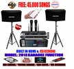 """SINGTRONIC COMPLETE 1000W KARAOKE SYSTEM SPECIALS WITH 45,000 SONGS <i><b><font color=""""#FF0000"""">NEWEST MODEL: 2019 BUILT IN HDMI & USB RECORDING & BLUETOOTH WITH OPTICAL INPUT</font></b></i>"""