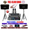 "SINGTRONIC COMPLETE 1000W KARAOKE SYSTEM SPECIALS WITH 45,000 SONGS <i><b><font color=""#FF0000"">NEWEST MODEL: 2018 BUILT IN HDMI & USB RECORDING & BLUETOOTH WITH OPTICAL INPUT</font></b></i>"