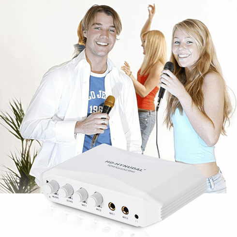 "Singtronic K9H Professional Digital HDMI to RCA Karaoke Mixer <b><i><font color=""#FF0000"">Turn any Mobile, TV, Player, Computer into Karaoke</font></i></b>"
