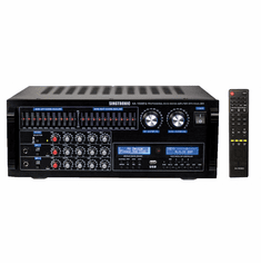 "Singtronic KA-1500EQ Professional DJ/KJ Digital 2000W EQ Mixing Amplifier Karaoke, HDMI, USB Voice Recording & Bluetooth <i><b><font color=""#FF0000"">MODEL: 2020</font></b></i>"