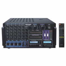 "Singtronic KA-4500DSP Professional DJ/KJ Digital 5000W Console DSP Mixing Amplifier Karaoke <font color=""#FF0000""><i><b>Model: 2020 Built HDMI, USB Voice Recording, Bluetooth & Equilizer, Top of the Line</b></i></font>"