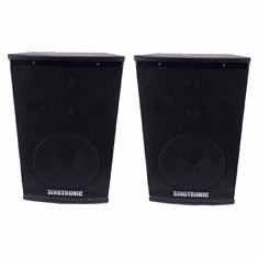"Singtronic KS-1000 Professional 2000W Vocalist Karaoke Speaker System (Pair) <font color=""#FF0000""><i><b>Highly Recommended !!!</b></i></font>"