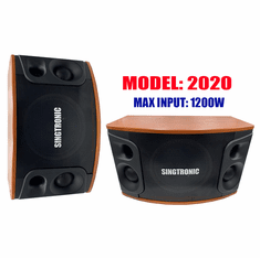"Singtronic KS-550V Professional 600W + 600W Vocalist Karaoke Speaker System (Pair) <font color=""#FF0000"">Double Tweeters &amp; Strong 10"" Woofer Super Bass</font>"