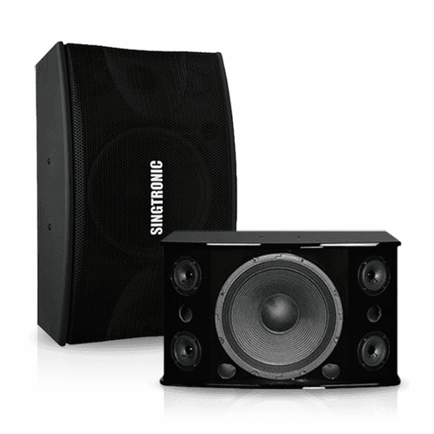 "Singtronic KS-912Pro Professional 2000W Vocalist Karaoke Speaker System High Gloss Piano Wood (Pair) <b><i><font color=""#FF0000"">Best Seller</font></i></b>  12"" Woofer + 4 x Tweeters"
