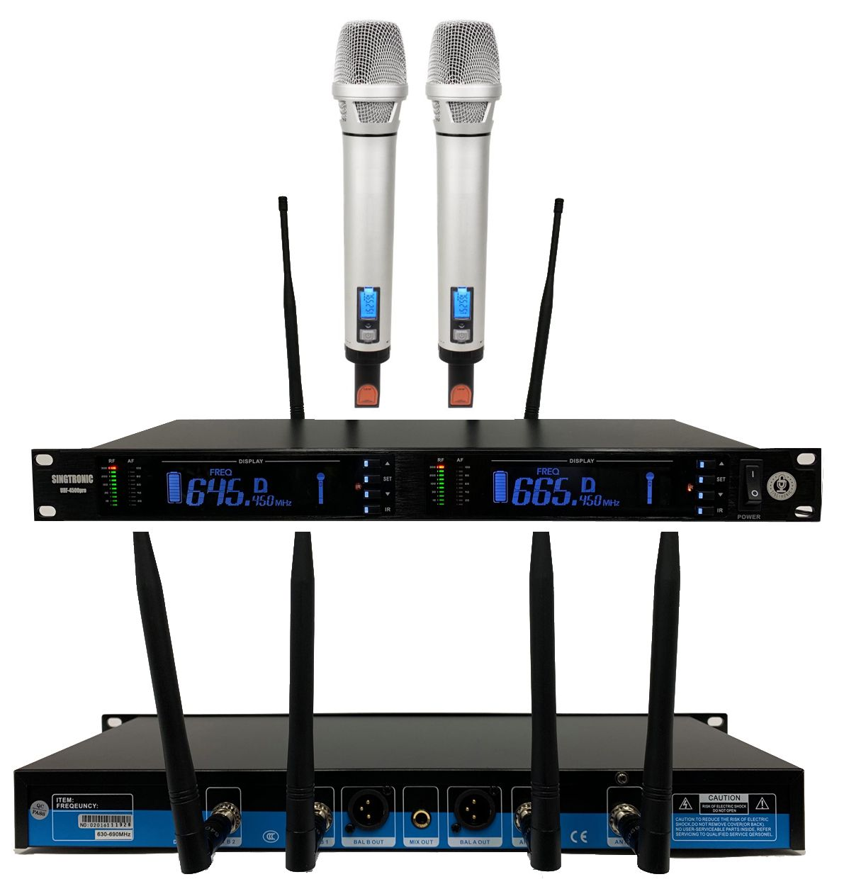 Singtronic Professional Complete 4000W Karaoke System Top of the Line  Newest: 2019 Super Tweeters Monster Bass W/ Wifi & Voice Recording FREE:  80,000