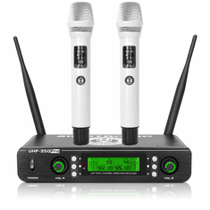 Singtronic UHF-350Pro Professional Dual UHF Wireless Microphone Karaoke System Newest Model: 2021
